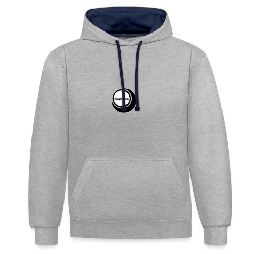 IMG 0191 - Contrast Colour Hoodie