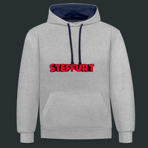 Steffurt LogoEffe zo weer weg xD - Contrast hoodie