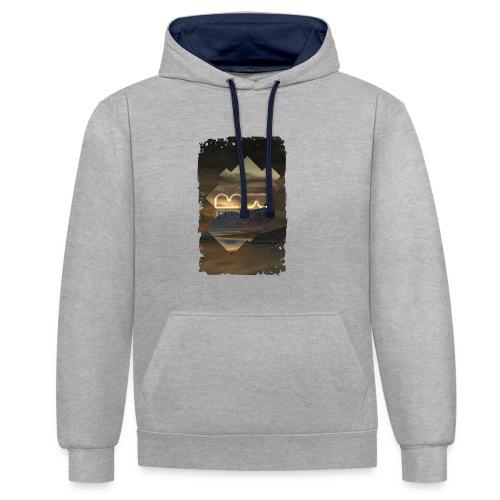 Men's shirt Album Art - Contrast Colour Hoodie