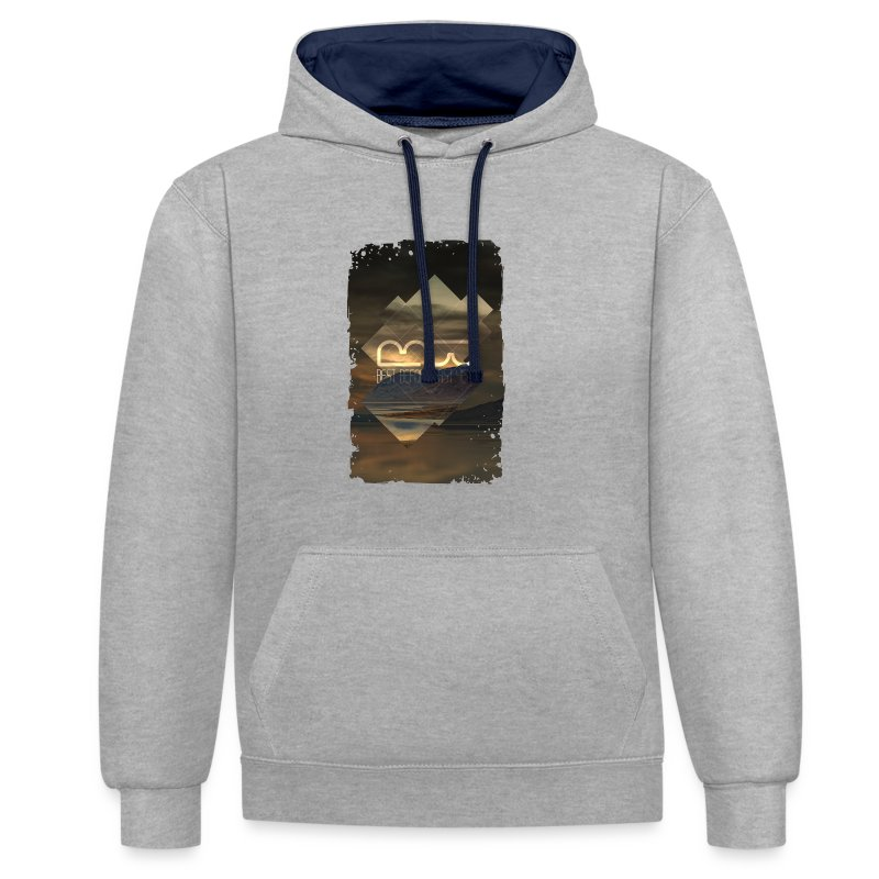 Men's shirt Album Art - Contrast Colour Hoodie