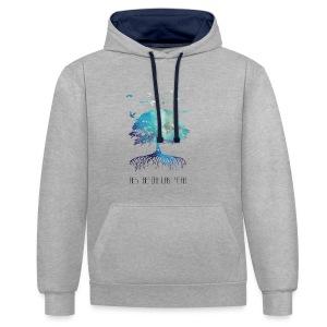 Men's shirt Next Nature Light - Contrast Colour Hoodie