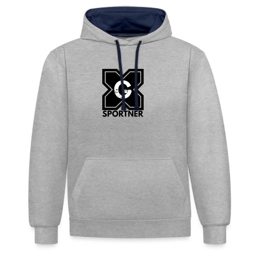Logo GX SPORTNER noir - Sweat-shirt contraste