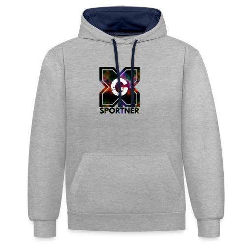 Logo édition limitée prénium GX SPORTNER - Sweat-shirt contraste
