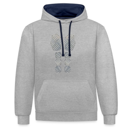 Metal Machine shirt - Contrast hoodie