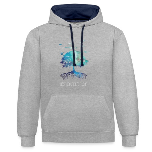 Unisex Hoodie Next Nature - Contrast Colour Hoodie