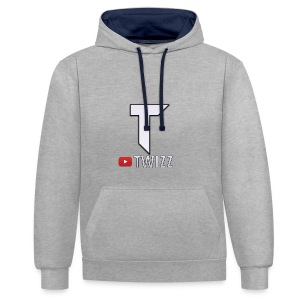 Twizz Youtube - Contrast Colour Hoodie