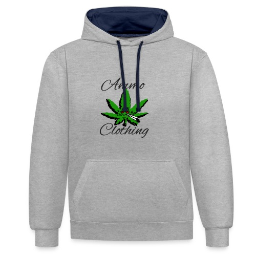 Mr Stoner Summer Wear - Contrast Colour Hoodie