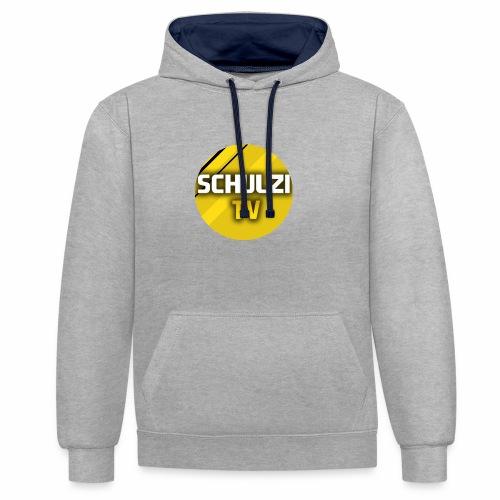 SchulziTV - Kontrast-Hoodie