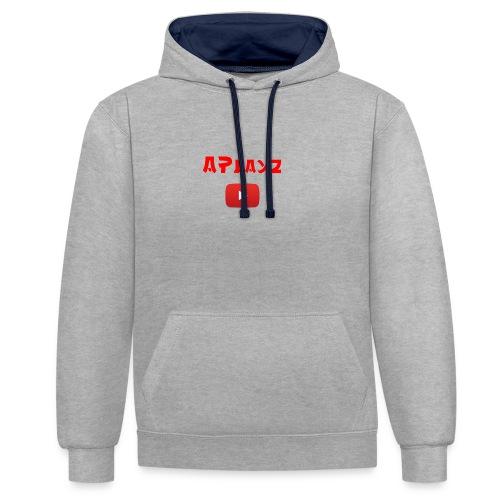 APlayz Design Set 01 - Contrast Colour Hoodie