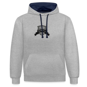 100% Premium Collection Brand - Contrast Colour Hoodie