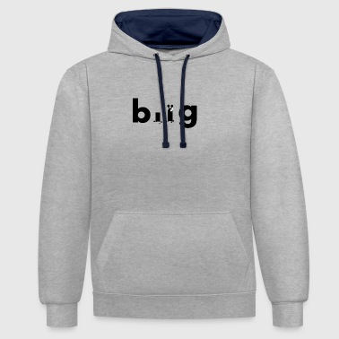 bug 1 - Sweat-shirt contraste