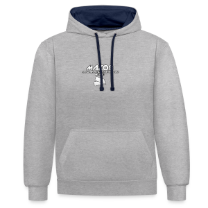 Ill See You All In The Next Video Mazob Grey Stree - Contrast Colour Hoodie