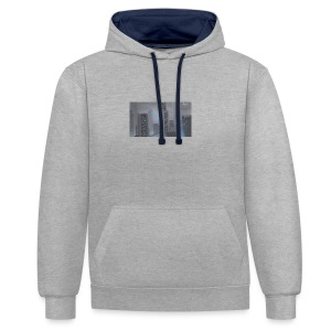dark_age_city - Contrast Colour Hoodie