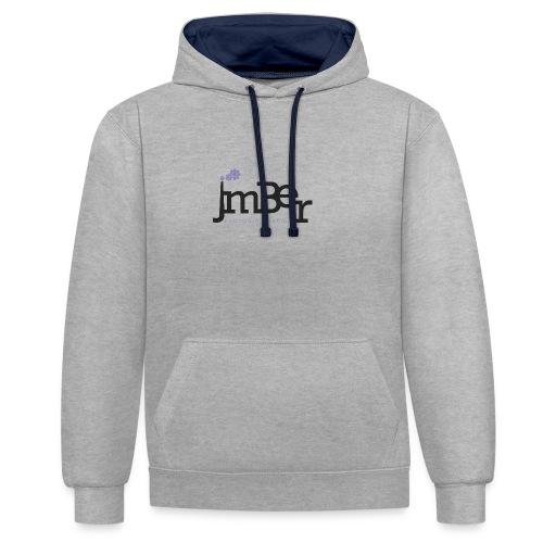 Factoria gràfica JmBer - Sudadera con capucha en contraste