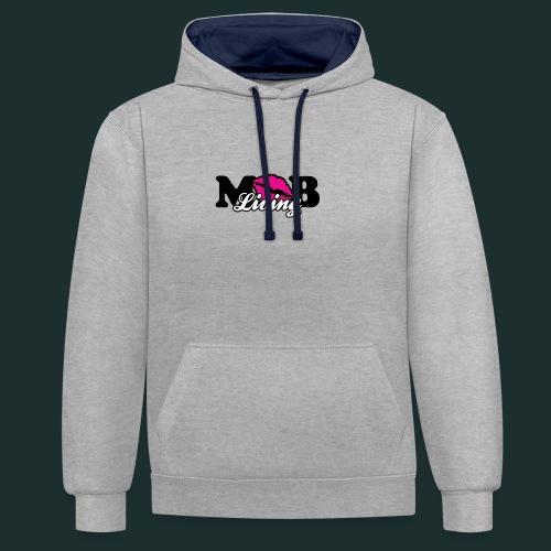 mob-gif - Contrast hoodie