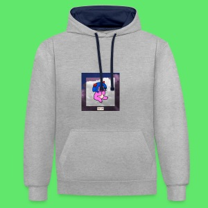 le nice girl - Contrast Colour Hoodie