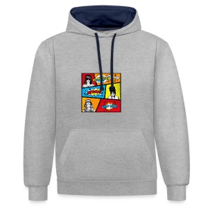RESOLUTION - Contrast Colour Hoodie