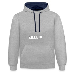 Zillow - Contrast Colour Hoodie