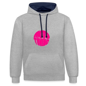 MotoTuning Pink - Contrast Colour Hoodie