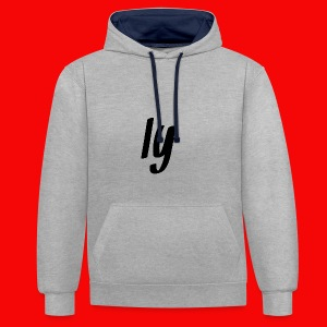 Iy - Contrast Colour Hoodie