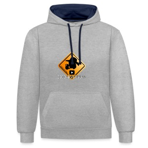 Logo MMolterVideo - Kontrast-Hoodie