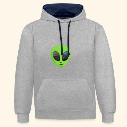 ggggggg - Contrast hoodie