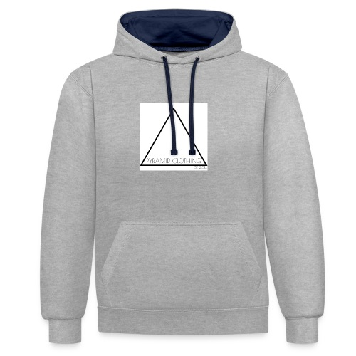 OFFICIAL LOGO 2016/17 - Contrast Colour Hoodie