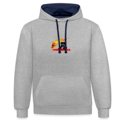 pub tee shirt nouvel ere - Sweat-shirt contraste