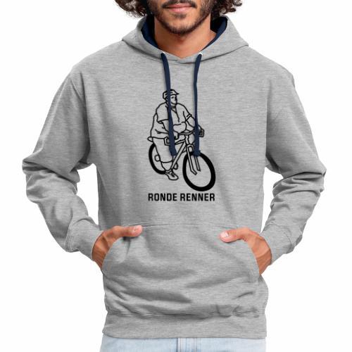 Ronde Renner - Contrast hoodie
