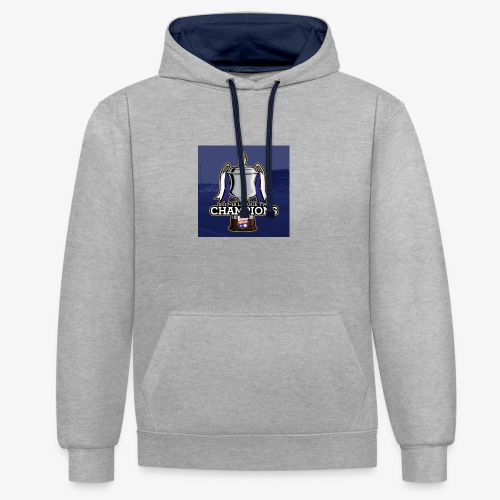 MFC Champions 2017/18 - Contrast Colour Hoodie