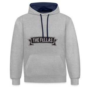 The Fellas T-Shirt - Contrast hoodie