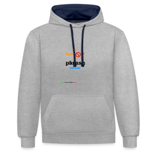 cool_swag - Sweat-shirt contraste
