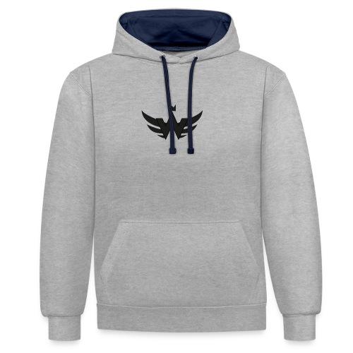 Logoshirt WorldCrime - Kontrast-Hoodie