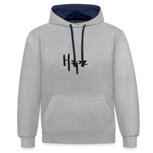 Hope - Sweat-shirt contraste