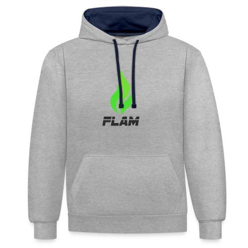 FLAM Kiwi - Sweat-shirt contraste