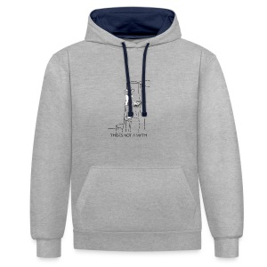 THIS IS NOT A MYTH! - Contrast Colour Hoodie