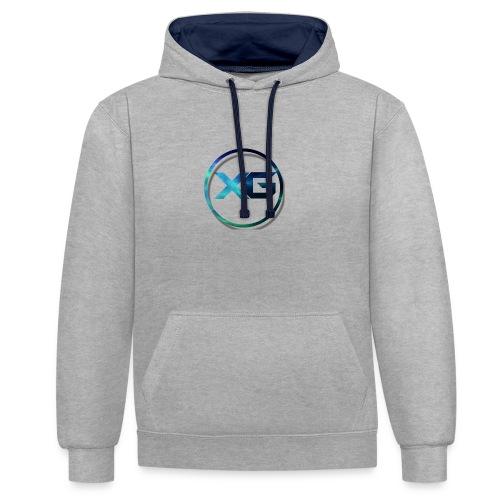 XG T-shirt - Contrast hoodie