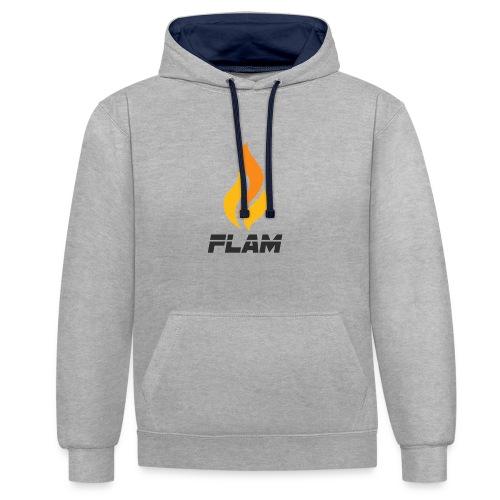 FLAM Fire - Sweat-shirt contraste