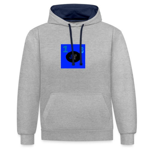 JakeyTruck16 special logo - Contrast Colour Hoodie