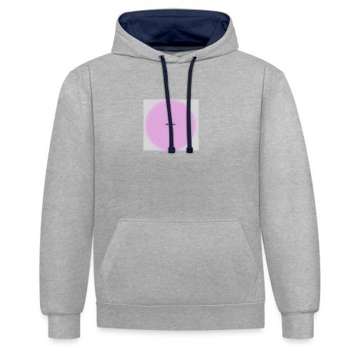 lukewarm logo - Contrast Colour Hoodie