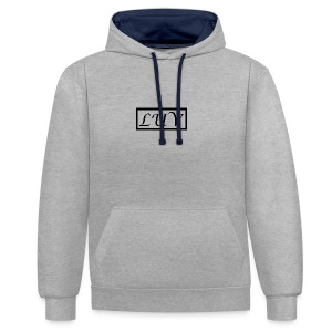 LUV - Contrast Colour Hoodie