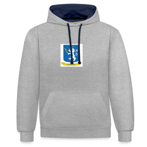 TheRealAlle4433 Logo - Contrast Colour Hoodie