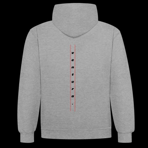Ventura Back Logo - Contrast hoodie