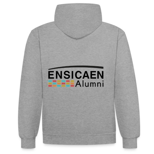Collection Ensicaen alumni - Sweat-shirt contraste