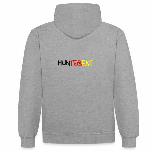 Huntebeat ( Deutschland Edition) - Kontrast-Hoodie