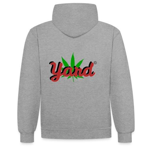 yard 420 - Contrast hoodie