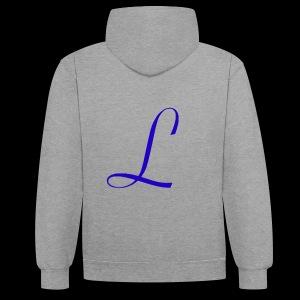 Liberty logo - Contrast hoodie