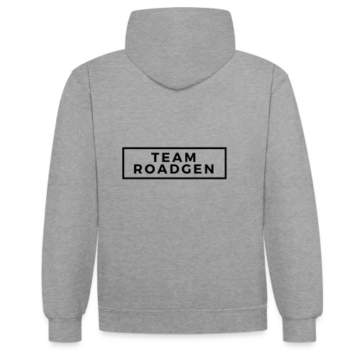 TEAM ROADGEN - Kontrast-Hoodie