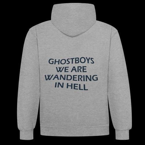 Ghostboys - Kontrast-Hoodie