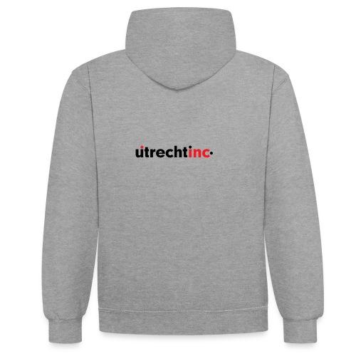 UtrechtInc - Contrast hoodie